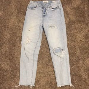 Pac Sun light wash vintage icon jeans so 26